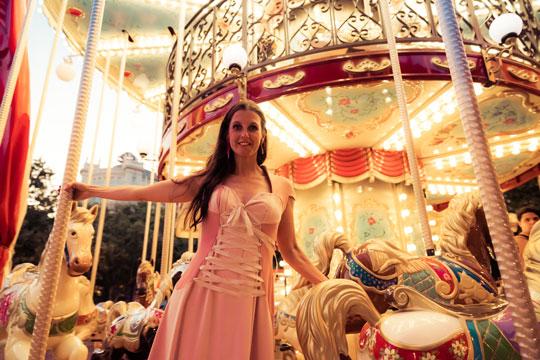 Vestido de Fiesta Elena de Frutos